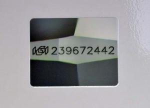 Das Originalfoto der Lasergravur dieses Diamanten befindet sich im Zertifikat