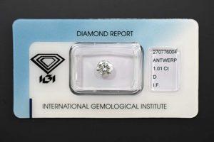Ein versiegelter Top Anlagediamant. Sicher verpackt.