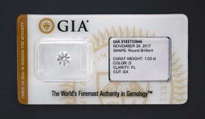 Ein perfekter Anlagediamant mit höchstmöglichen Werten in allen Bereichen! Sicher versiegelt.