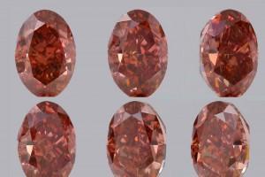Ein traumhafter und seltener Fancydiamant! Die Abbildung zeigt den Diamanten aus verschiedenen Winkeln. Von jeder Seite sagenhaft schön!