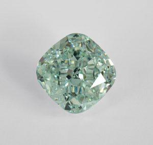 Selten schön und sehr wertvoll! Ein blau-grüner Diamant als Kapitalanlage und/oder Traumschmuck!