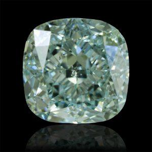 Ein natürlicher, bläulich-grüner Fancy Diamant von 1,20 Karat! Mit Lasergravur der Zertifikatsnummer.