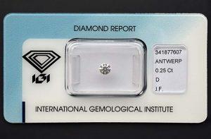 Ein kleiner Anlagediamant in höchster Qualität! Sicher versiegelt.