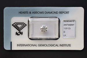 Ein perfekter Diamant sicher versiegelt!