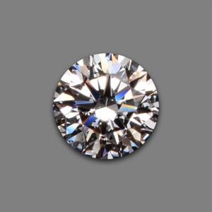 Ein loser Einkaräter Anlage-Diamant.