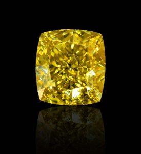Mehr Gelb geht nicht! Diamant-Cushion, 1,26 Karat in Fancy Deep Yellow - als aussichtsreiche Kapitalanlage oder beeindruckender Schmuckdiamant für einen tollen Ring?