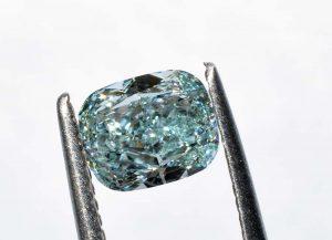 Fancy Intense Bluish Green - eine der seltensten und wertvollsten Farben für naturfarbige Diamanten!