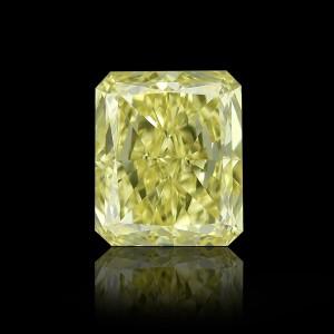 Ein sehr schöner, gelber Fancy Intense Diamant, 0,53 Karat!