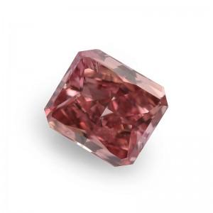 Ein sehr schöner und wertvoller Diamant in der seltenen Farbe Fancy Intense Pink!