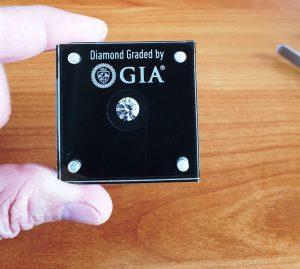 GIA Diamantenbox