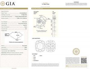 Das international anerkannte und geschätzte GIA Zertifikat. Sicherheit auf höchstem Niveau!