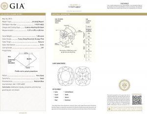 Sicherheit durch weltweit anerkanntes GIA-Diamantenzertifikat. Zusätzlich ist der Diamant mit der Zertifikatsnummer lasergraviert!