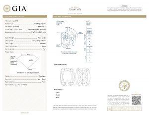 Sicherheit durch das weltweit anerkannte GIA-Zertifikat - mit Lasergravur!