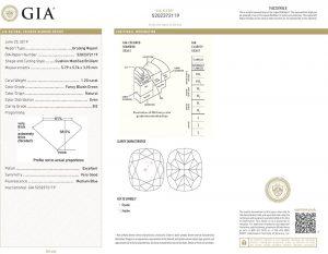 Das GIA-Zertifikat gehört bei einem Fancy-Diamanten zwingend dazu! Weltweite Anerkennung und Sicherheit auf höchstem Niveau.