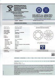 Das weltweit anerkannte IGI-Zertifikat. Sicher ist sicher!