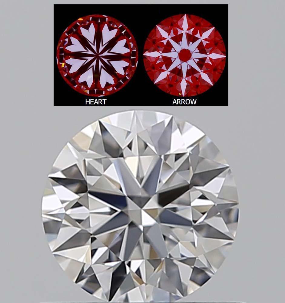 Diamant-1,02-Karat-D-IF-3x-Exzellent-keine-Fluoreszenz-mit-Hearts-and-Arrows-Pic-GIA-1385608386